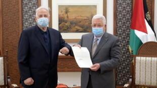 Abbas decret elections Palestine PALESTINIANS-POLITICS-ELECTION
