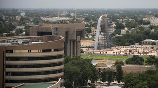 Un vue de la capitale tchadienne Ndjamena.