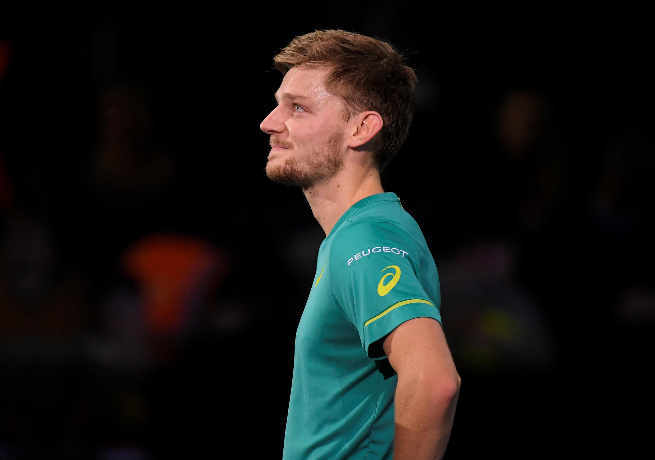 David Goffin is only the sixth player to overcome Roger Federer and Rafael Nadal in the same tournament.