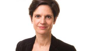 Sandrine Rousseau, porte-parole nationale d'EELV, conseillère régionale dans le Nord Pas de Calais