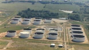 Le marché à terme du pétrole à New York est lié au brut physiquement stocké dans les réservoirs de Cushing (Oklahoma)