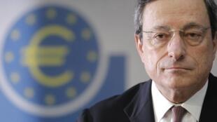 Mario Dragui, presidente do Banco Central Europeu.