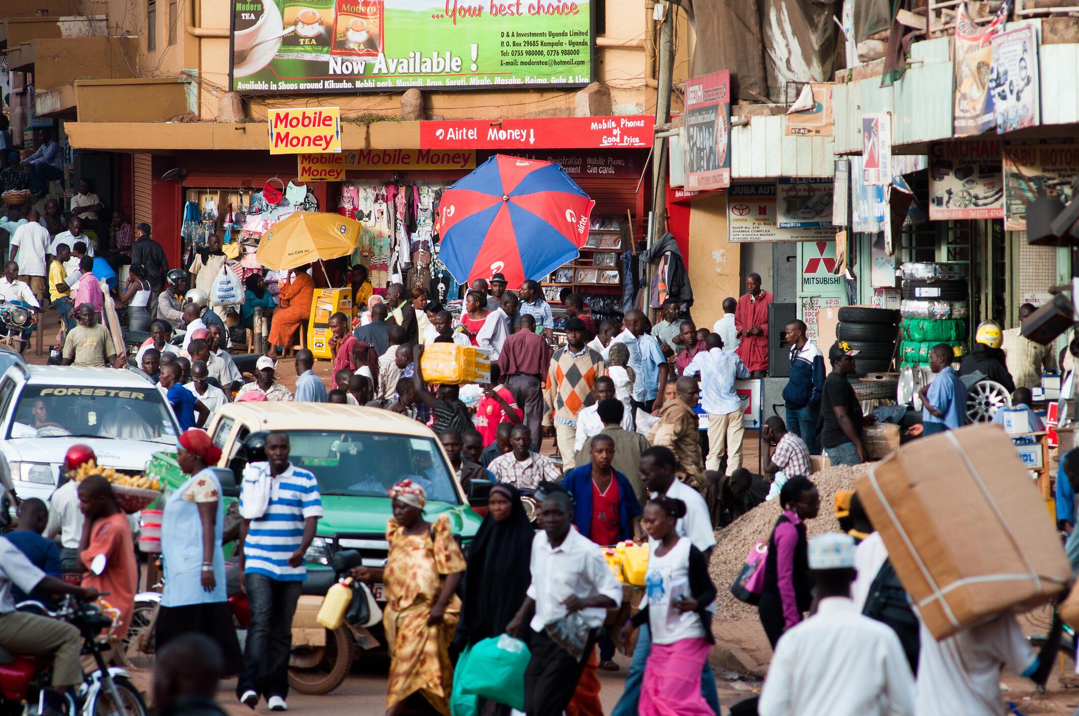 Le salaire moyen en Ouganda est évalué à 200 000 shillings.