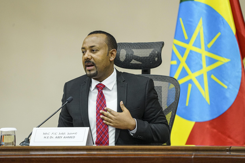 El primer ministro etíope, Abiy Ahmed, el 30 de noviembre de 2020 en Adís Abeba