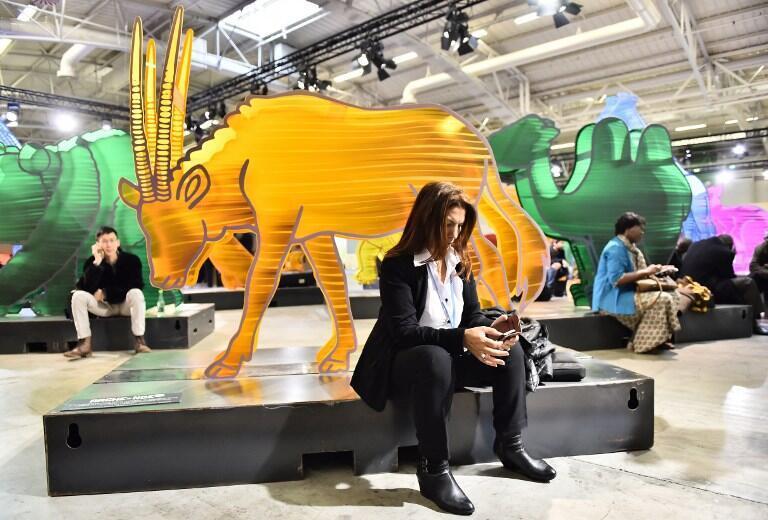 На Всемирной конференции по климату в Ле Бурже 1 декабря 2015