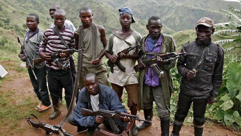 Kundi la wapiganaji wa FDLR, nchini Jamhuri ya kidemokrasia ya Congo (picha ya zamani).