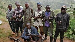 Combattants des FDLR en République démocratique du Congo (archives)