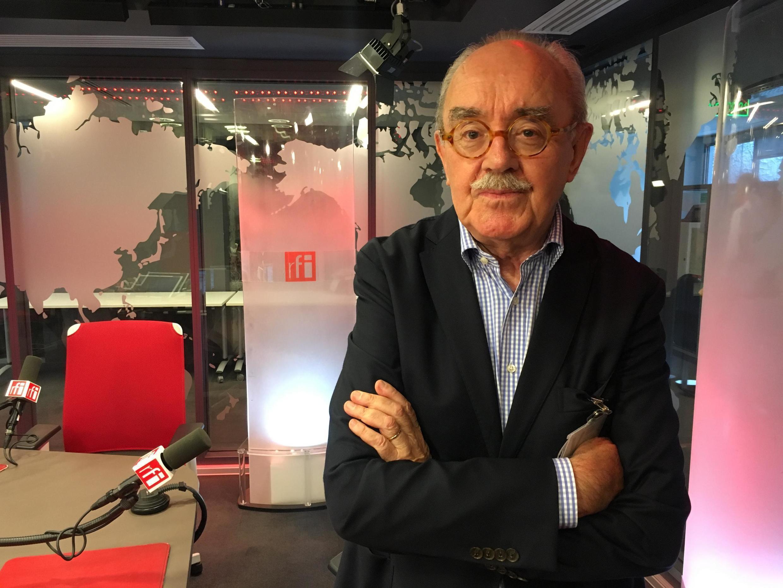 Consultor Jean-Yves Carfantan, francês fundador da Agrobrasconsult, em São Paulo.