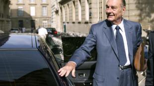 Le nom de l'ancien président de la République, Jacques Chirac a été associé à de nombreuses affaires au cours de sa vie politique.