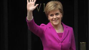 Nicola Sturgeon, premiê escocesa.