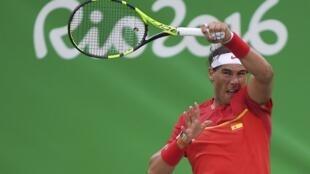 El tenista español Rafael Nadal en los Juegos Olímpicos de Rio el 7 de agosto de 2016.