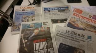 Diários franceses 12.12.2016