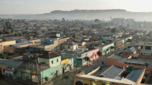 Adigrat - Ethiopie - Tigré - Tigray - vue