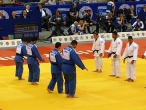 Equipe do Brasil perde bronze para a Geórgia.
