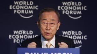 Ban Ki Moon cobrou a colaboração do Irã, onde uma nova missão da AIEA vai chegar no domingo.