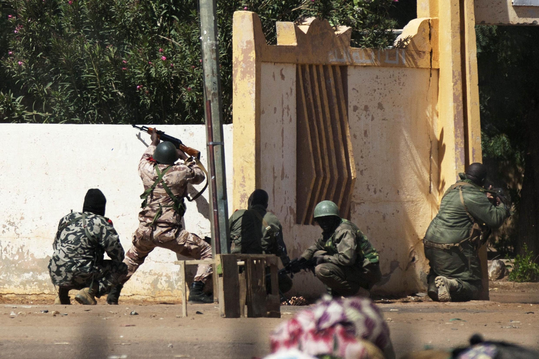 Wanajeshi wa Mali wakiendelea na Operesheni yao kaskazini mwa Mali