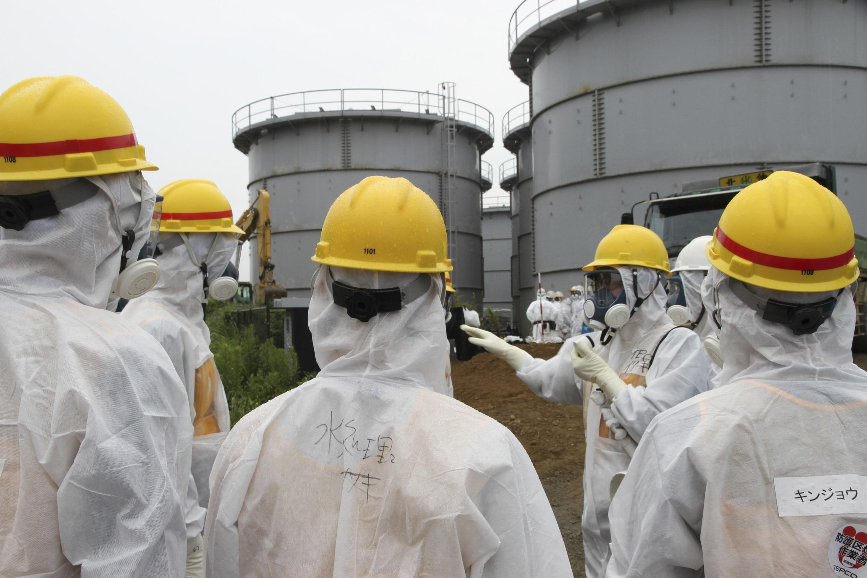 Theo Cơ quan quản lý hạt nhân Nhật Bản, độ phóng xạ lên tới mức kỷ lục  - REUTERS /Nuclear Regulation Authority
