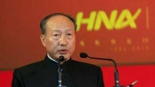 中國海航集團黨委書記、董事長陳峰資料圖片
