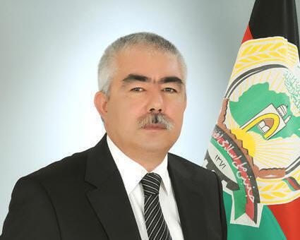 ژنرال دوستم، معاون اول رئیس جمهوری افغانستان