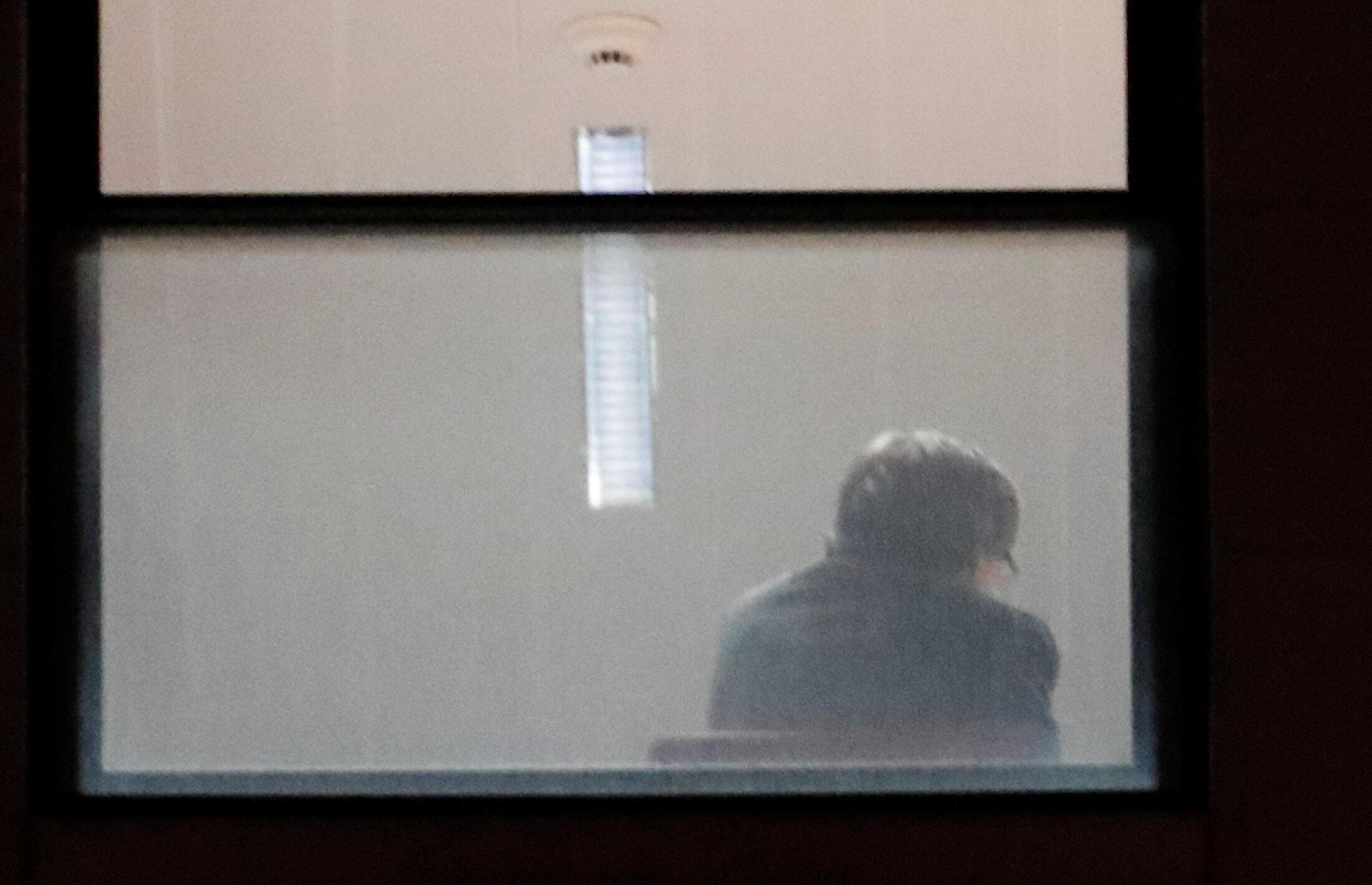 05.11.2017. Брюссель. Карлес Пучдемон в здании прокуратуры