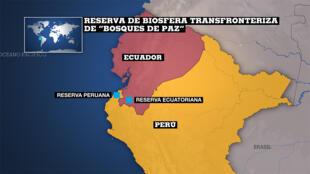 Reserva de la Biosfera Transfronteriza Bosques de Paz