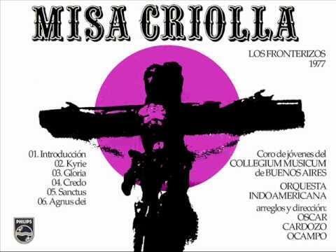 Portada del disco de la Misa Criolla