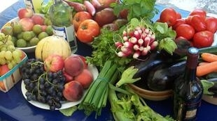 Manger 5 fruits et légumes par jour.