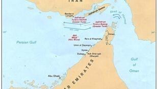 جزایر ابوموسی، تنب بزرگ و تنب کوچک