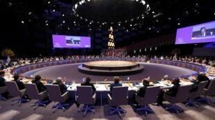 Les dirigeants de plus de 50 Etats sont réunis pour deux jours pour un sommet sur la sécurité nucléaire. La Haye, le 24 mars 2014.
