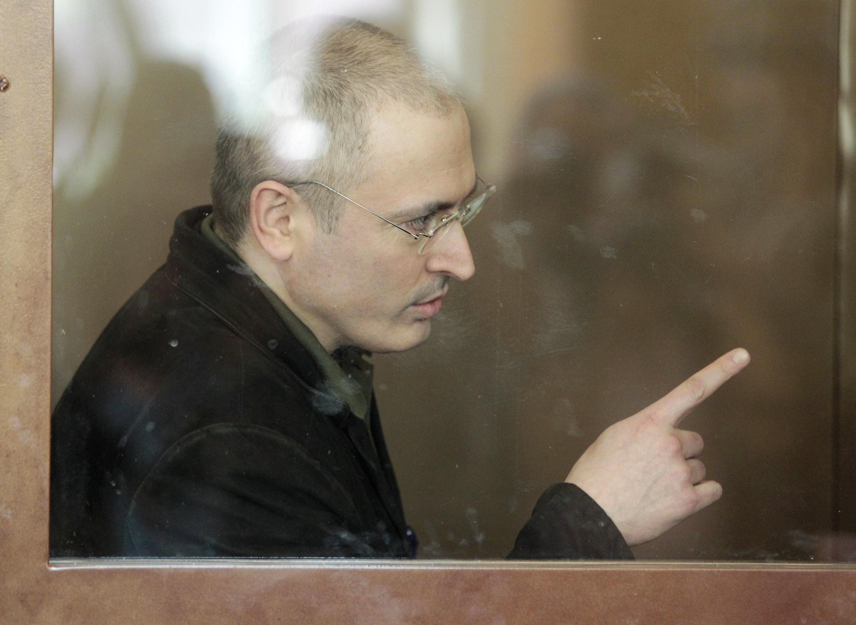 Михаил Ходорковский. Хамовнический суд. Москва, 22 июня 2010