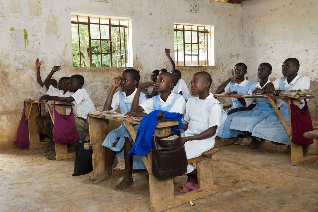 Une école rurale au Kenya en 2012 (image d'illustration).