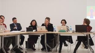 Pesquisadores da Associação dos Brasilianistas na Europa (Abre), em mesa-redonda realizada nesta segunda-feira (22), na Escola de Altos Estudos em Ciências Sociais (Ehess) em Paris.