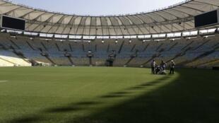 Sân vận động Maracana, địa danh huyền thoại của giới hâm mộ bóng đá - REUTERS /Ricardo Moraes