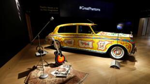 Kiểu xe PhantomV -Rolls Royce của huyền thoại John Lennon.