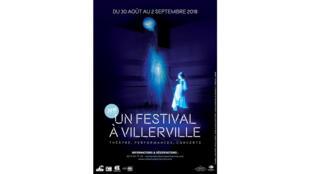 Affiche de la 5e édition du festival de Villerville.