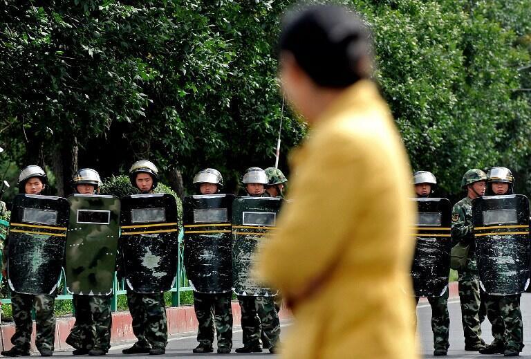 Phía Mỹ bày tỏ quan ngại trước sự trấn áp hai cộng đồng người Tây Tạng và Duy Ngô Nhĩ - AFP / P. Lopez
