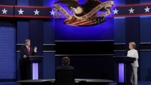 هیلاری کلینتون و دونالد ترامپ دو نامزد انتخابات ریاست جمهوری آمریکا