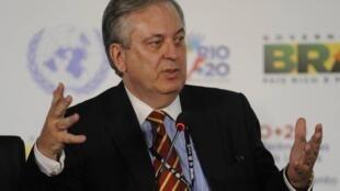 O novo chanceler brasileiro, Luiz Alberto Figueiredo Machado.