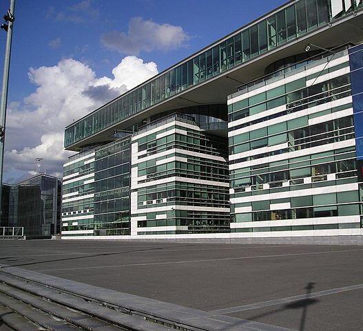 Le siège de France télévisions, dans le XVe arrondissement.