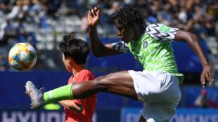 La Nigériane Asisat Oshoala, lors de la Coupe du monde 2019.