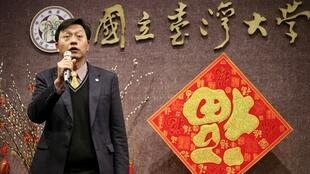 台大代理校长郭大维(图)2018年2月22日主持台湾大学新春团拜时表示,代理校长已进入第8个月,希望过渡期间尽快告一段落。