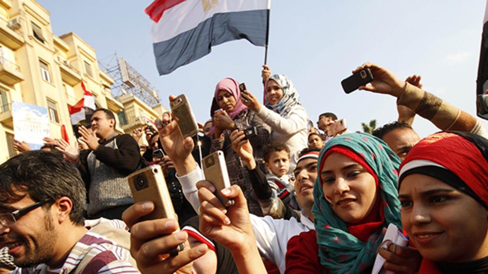 """""""阿拉伯之春""""参与者图片"""
