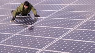 Solar panels, a renewable energy