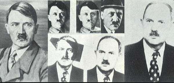 Adolf Hitler y Jean-Marie Loret.