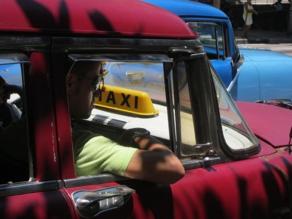 Taxi à La Havane, Cuba (2011).