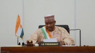 Kiongozi mkuu wa upinzani Niger, Hama Amadou, Novemba 16, 2013.