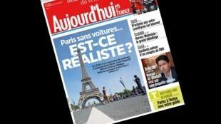 O jornal Aujourd'hui en France questiona se o objetivo da prefeita de Paris de proibir a circulação de carros à gasolina na capital francesa até 2030 é realista.
