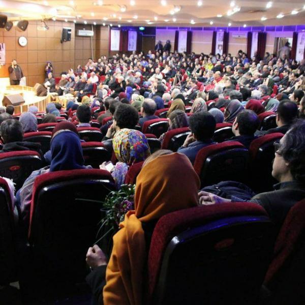 شرکت کنندگان در شب آلبر کامو در تهران