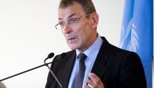 Andris Piebalgs, le Commissaire européen chargé du Développement.
