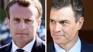 Le nouveau chef du gouvernement espagnol Pedro SANCHEZ a été reçu à l'Élysée par le Président Emmanuel Macron ce samedi 23 juin 2018